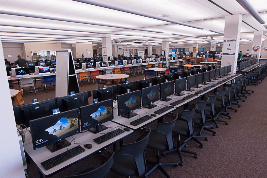 1st floor computer lab